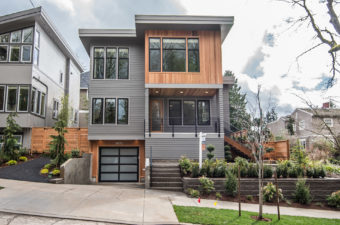 Everett Custom Homes Modern Collection - Box Elevation