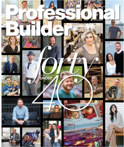 Professional Builder 2017 40 Under 40 Awards